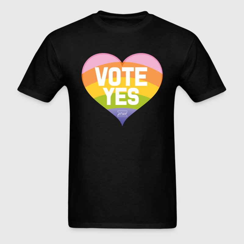 Vote Yes-Australia Marriage Equality T-Shirts - Men's T-Shirt