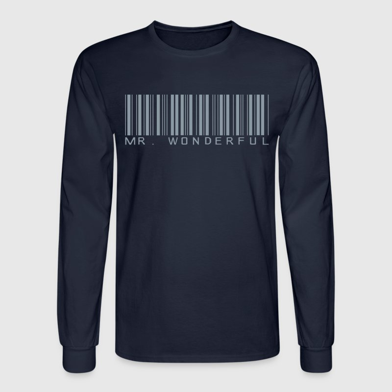 Mr Wonderful Long Sleeve Shirts - Men's Long Sleeve T-Shirt