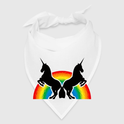 Magical Unicorns and the rainbow - Bandana