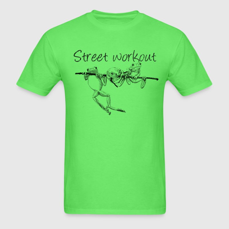 Street workout t shirt spreadshirt for Design your own workout shirt