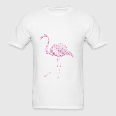 Flamingo circles pink Sportswear - Men's T-Shirt