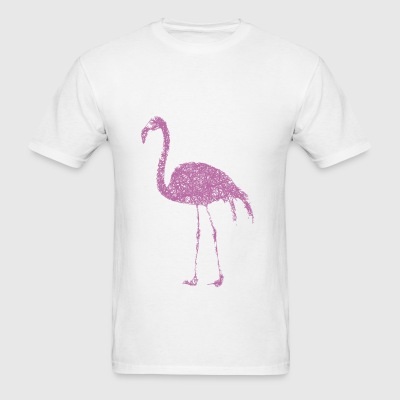 Flamingo Striche Sportswear - Men's T-Shirt