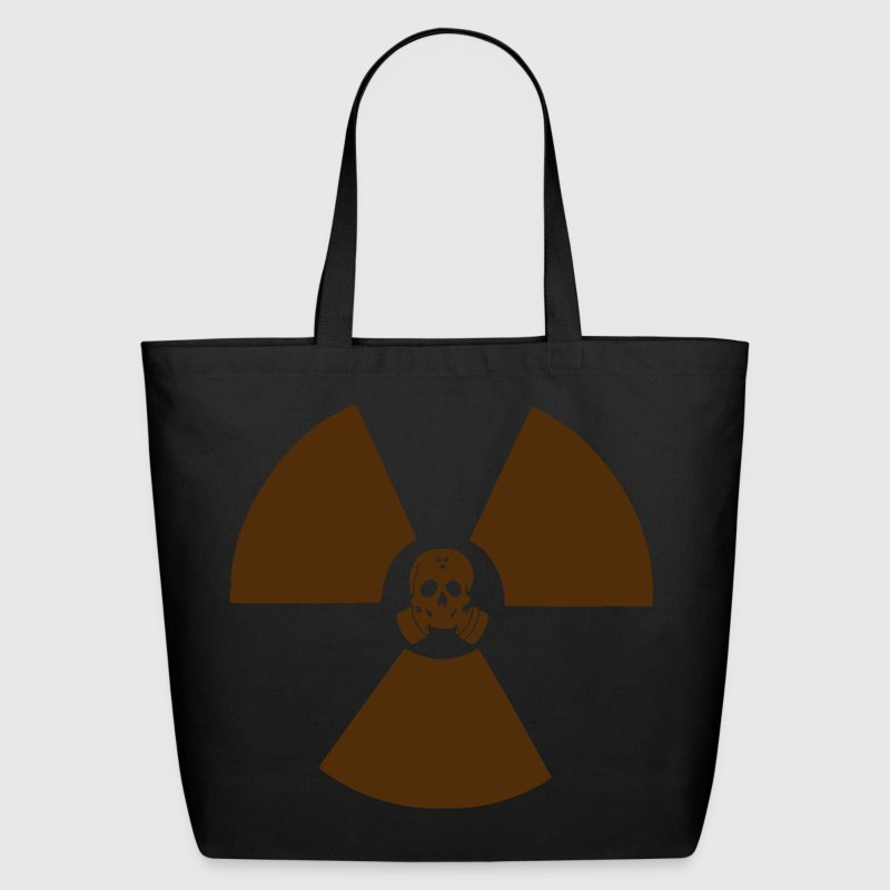 Radiation Skull Bags  - Eco-Friendly Cotton Tote