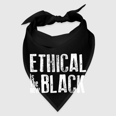 Ethical is the new black Mugs & Drinkware - Bandana