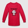 i'm the best Kids' Shirts - Kids' Long Sleeve T-Shirt