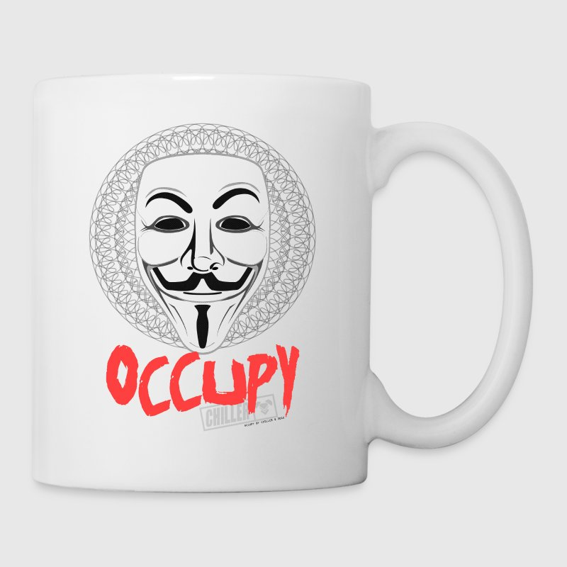 Occupy - Guy Fawkes Mask Accessories - Coffee/Tea Mug