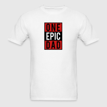 one epic dad Sportswear - Men's T-Shirt