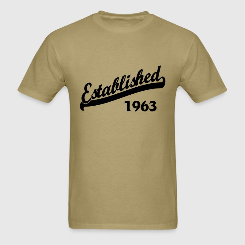 Established 1963 T-Shirts - Men's T-Shirt