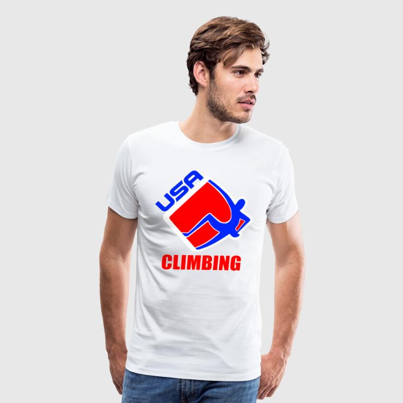 Team USA Climbing - Men's Premium T-Shirt