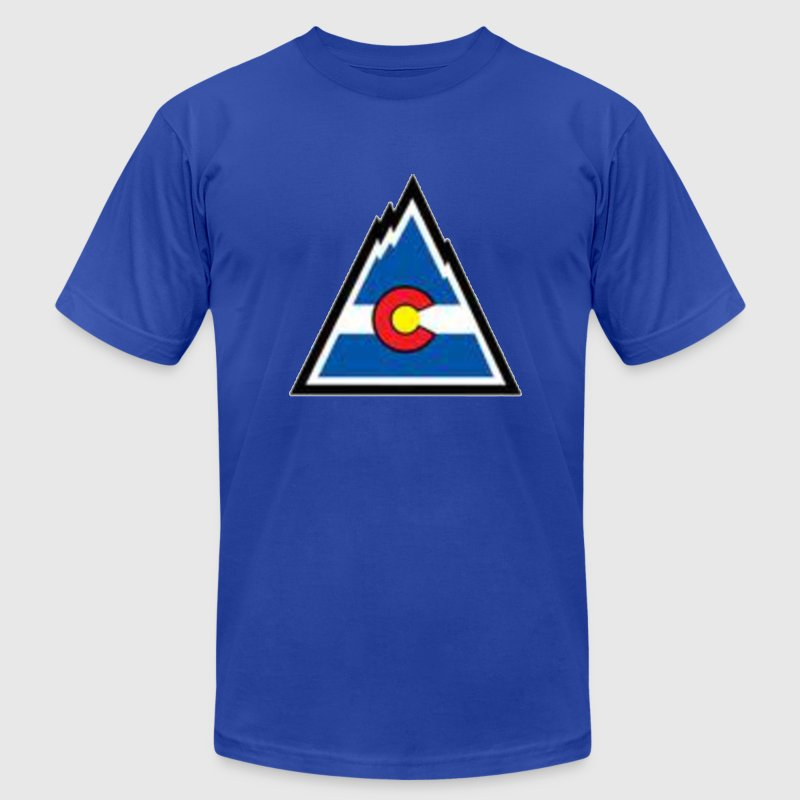 Vintage rockies. T-Shirts - Men's T-Shirt by American Apparel