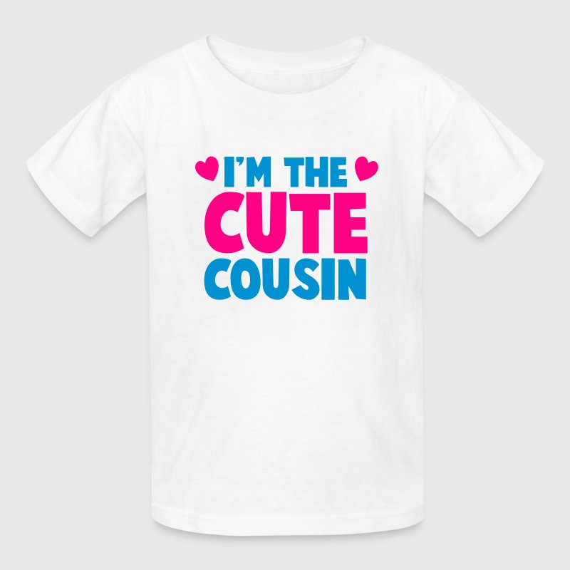 I'm the CUTE COUSIN! Kids' Shirts - Kids' T-Shirt