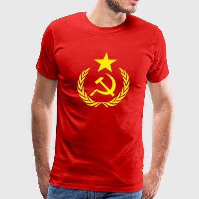 Communist Flag Full Star Sportswear - Men's Premium T-Shirt
