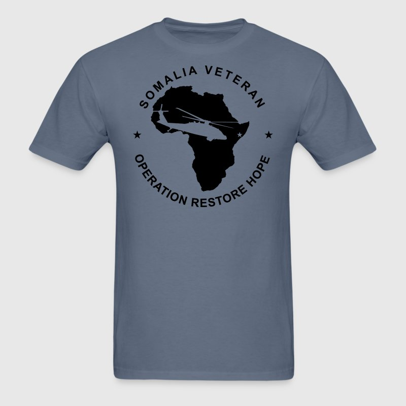 Somalia Veteran Operation Restore Hope - Men's T-Shirt