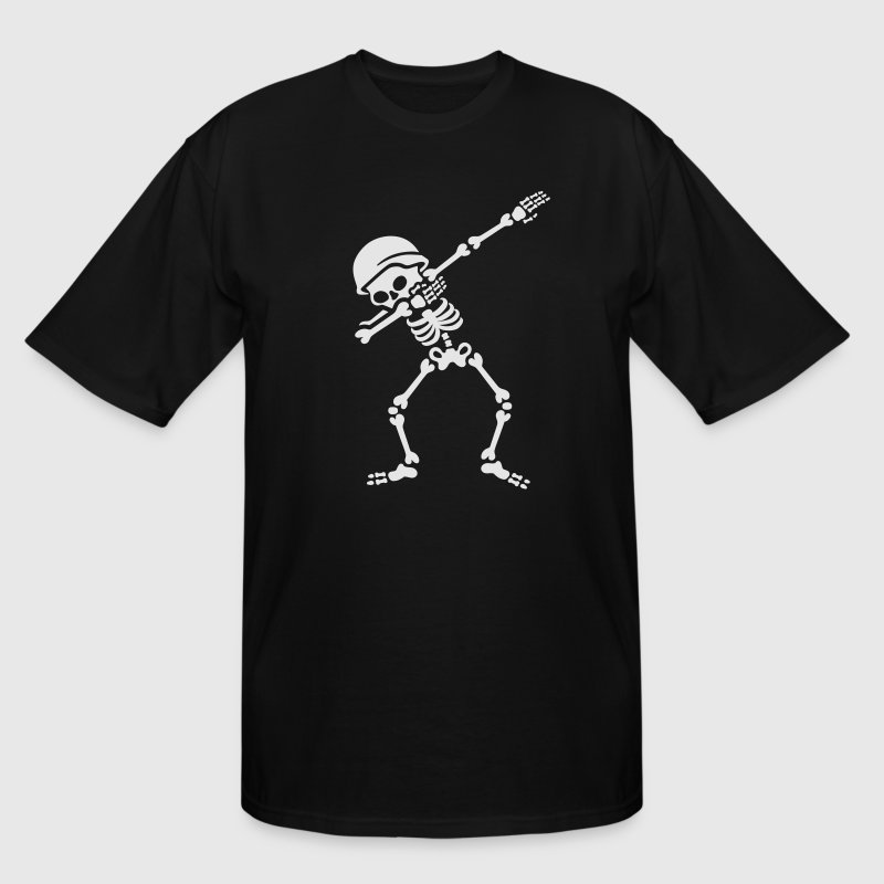 Soldier skeleton dab /dabbing T-Shirts - Men's Tall T-Shirt