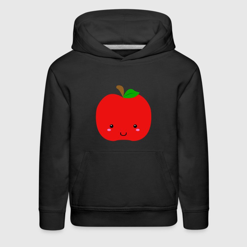 red apple Sweatshirts - Kids' Premium Hoodie