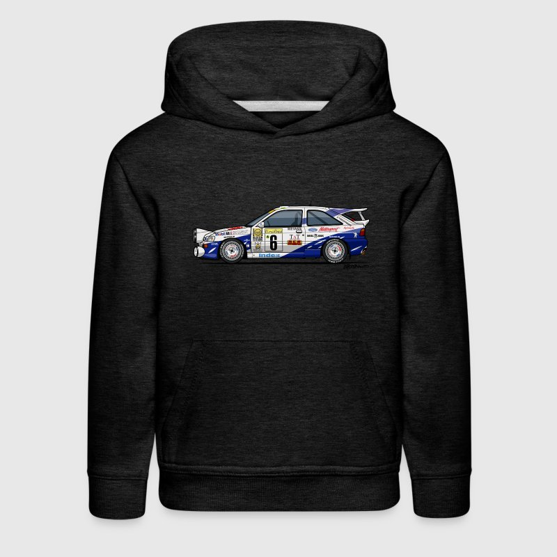 Ford Escort RS Cosworth Rally Monte Carlo Sweatshirts - Kids' Premium Hoodie