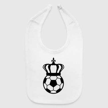 Football, Soccer King  Sweatshirts - Baby Bib