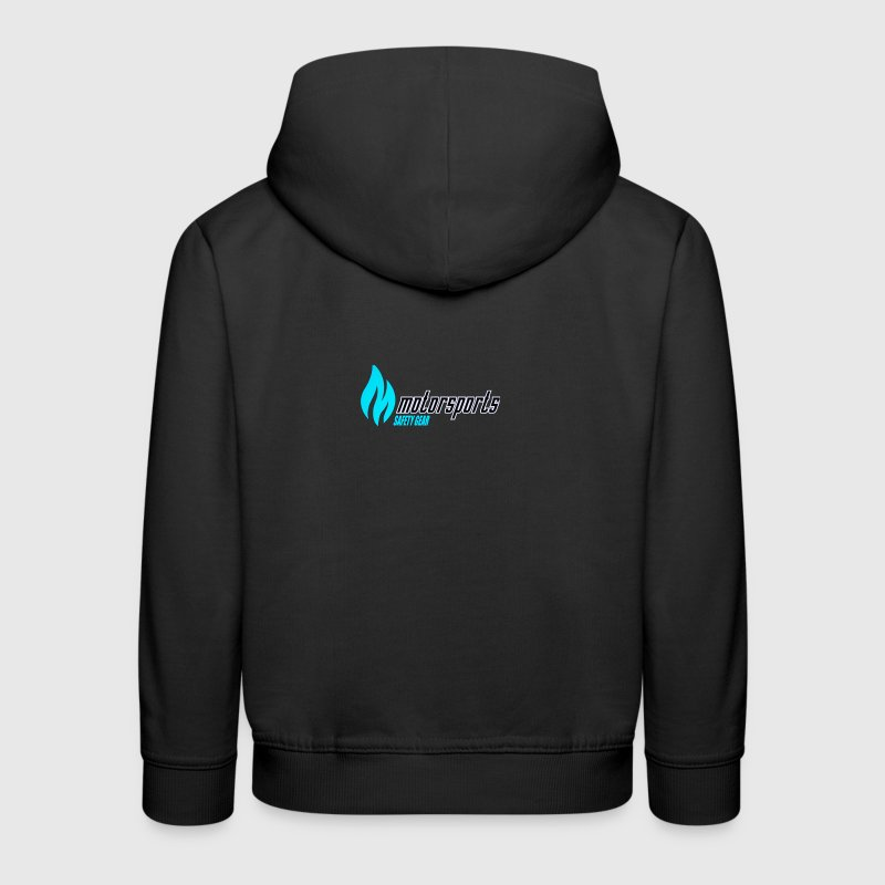 MotorSports Safety Gear Apparel Logo Teal Sweatshirts - Kids' Premium Hoodie