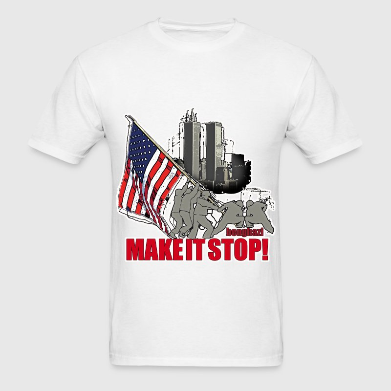 Make it stop  - Men's T-Shirt