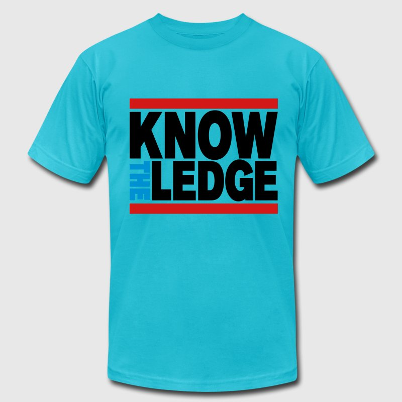 Know The Ledge T-Shirts - Men's T-Shirt by American Apparel