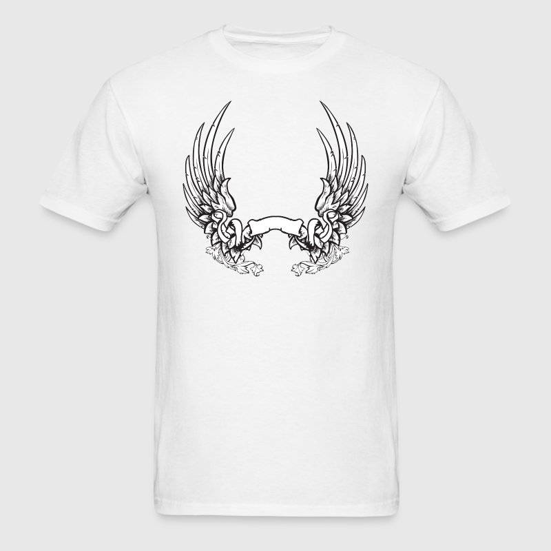 Wings and Banner T-Shirts - Men's T-Shirt
