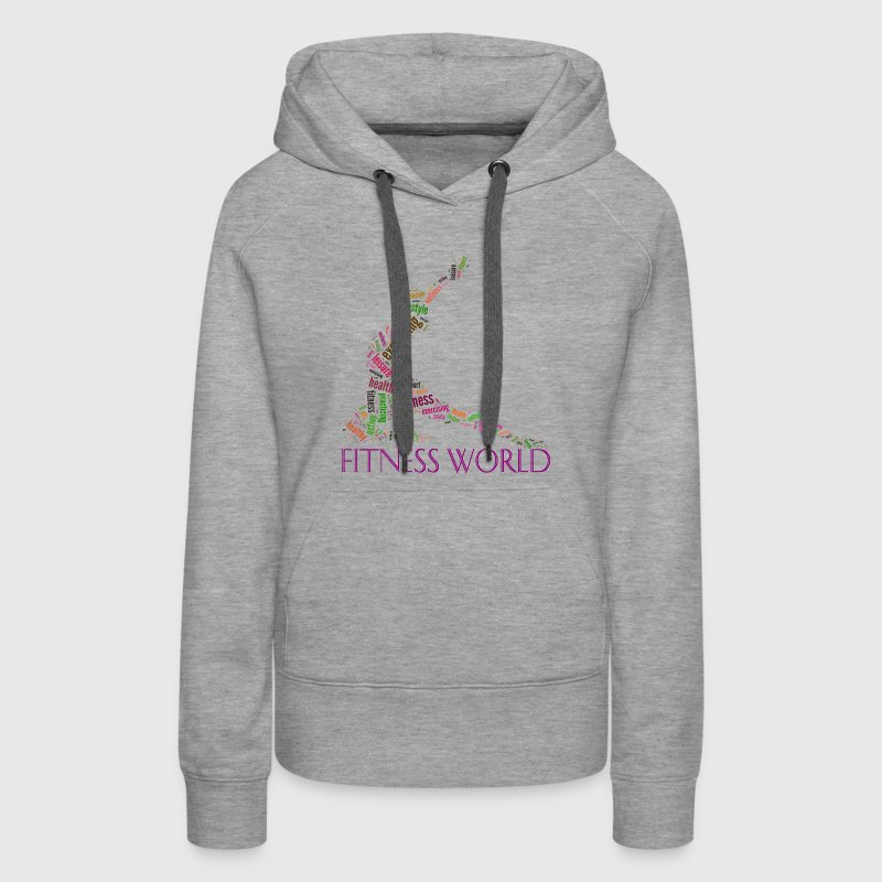 Fitness world Hoodies - Women's Premium Hoodie