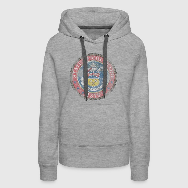 Vintage Colorado Seal Hoodies - Women's Premium Hoodie