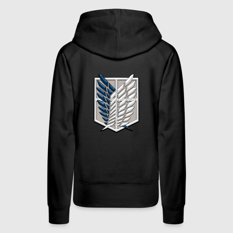 Survey Corps | Attack on Titans Hoodies - Women's Premium Hoodie