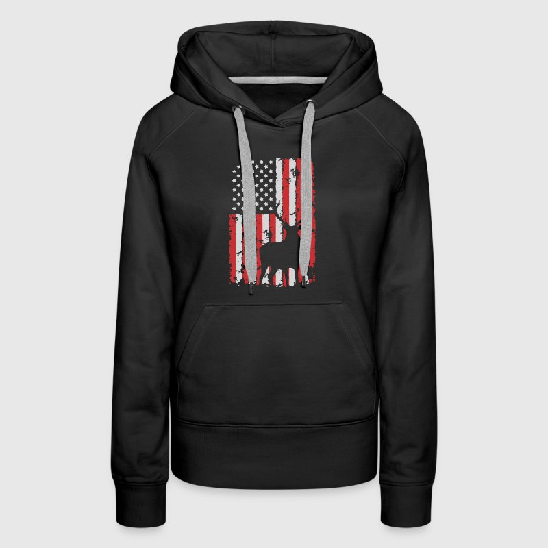 Hunting Flag Shirt - Women's Premium Hoodie