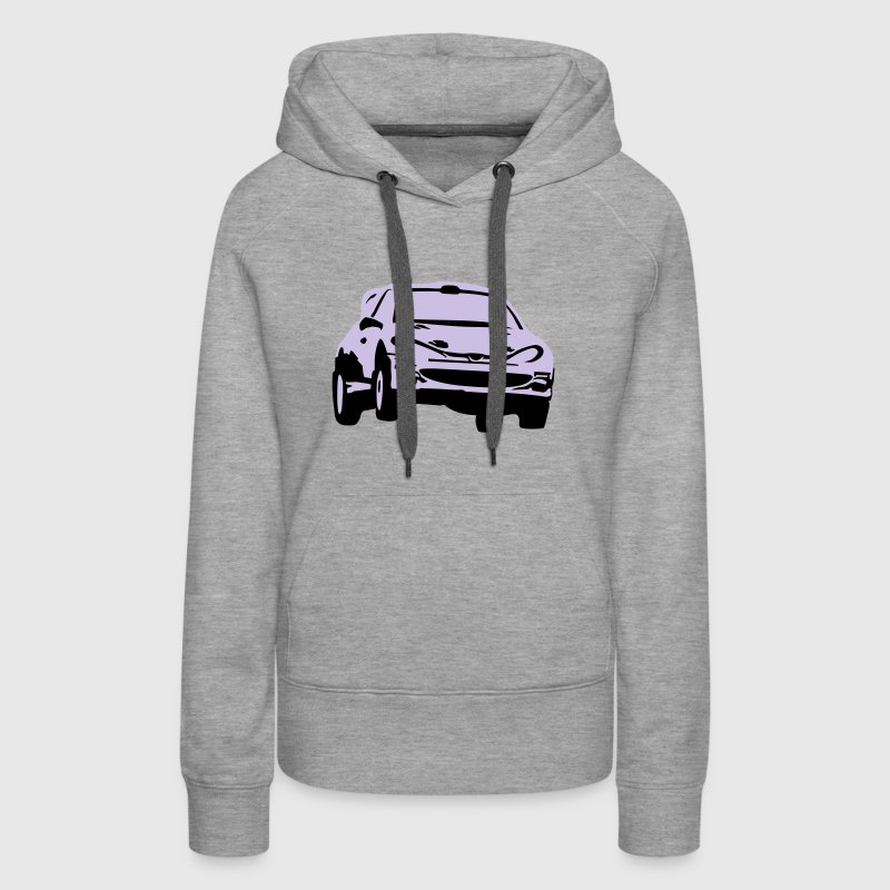Rally car, racing car Hoodies - Women's Premium Hoodie