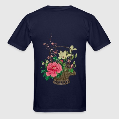 Japanese Ikebana Hoodies - Men's T-Shirt