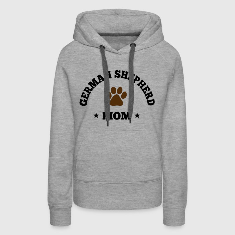 German Shepherd Mom Hoodies - Women's Premium Hoodie