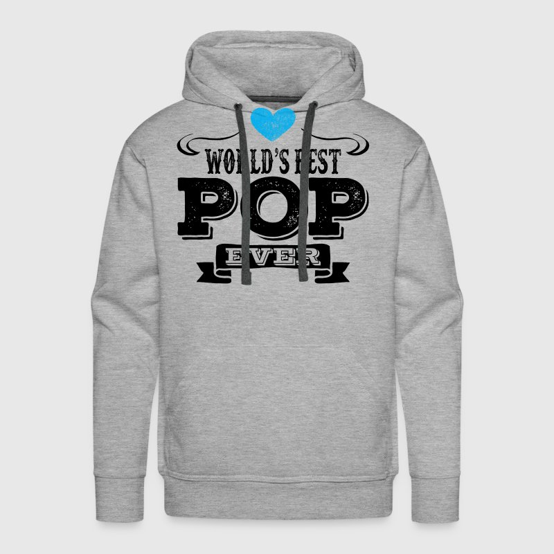 World's Best Pop Ever Hoodies - Men's Premium Hoodie