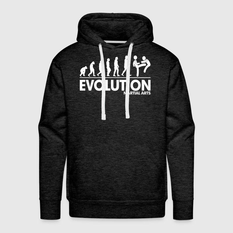 Evolution Martial Arts FUNNY Hoodies - Men's Premium Hoodie