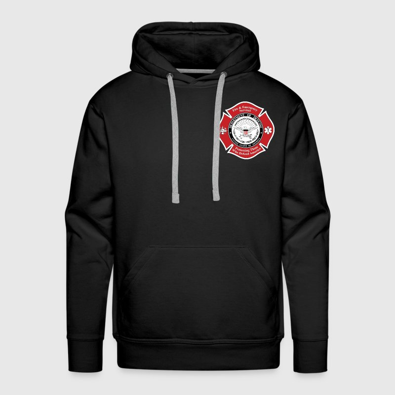 DOD Fire Badge Hoodies - Men's Premium Hoodie