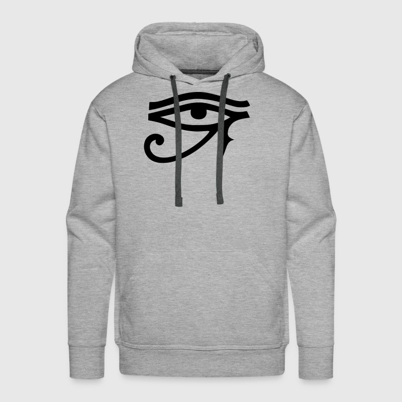 Horus Eye God of All Egypt Symbol Sign Hoodies - Men's Premium Hoodie