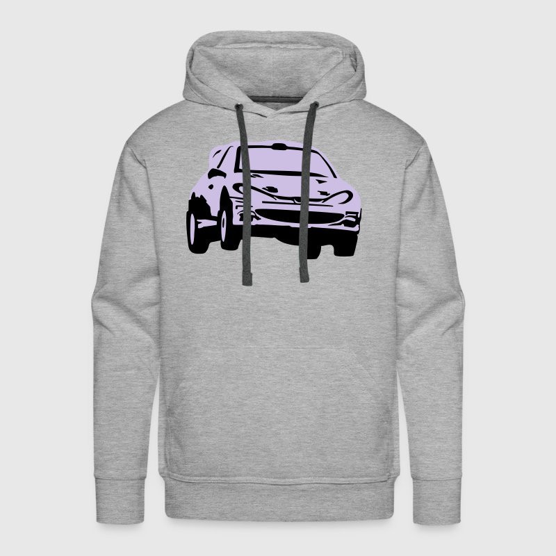 Rally car, racing car Hoodies - Men's Premium Hoodie