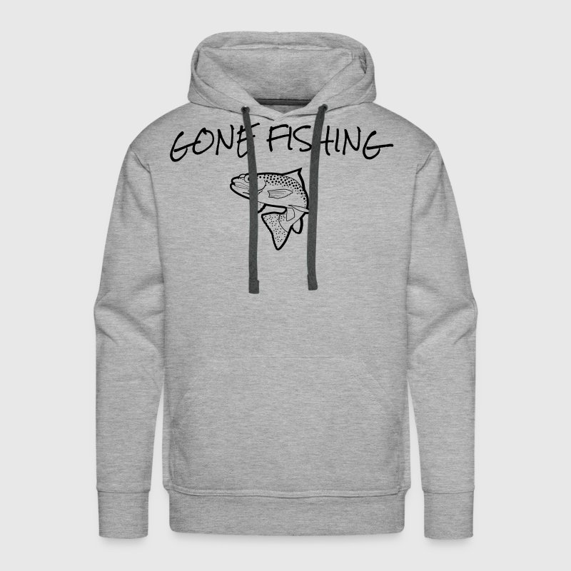 Gone Fishing Hoodies - Men's Premium Hoodie