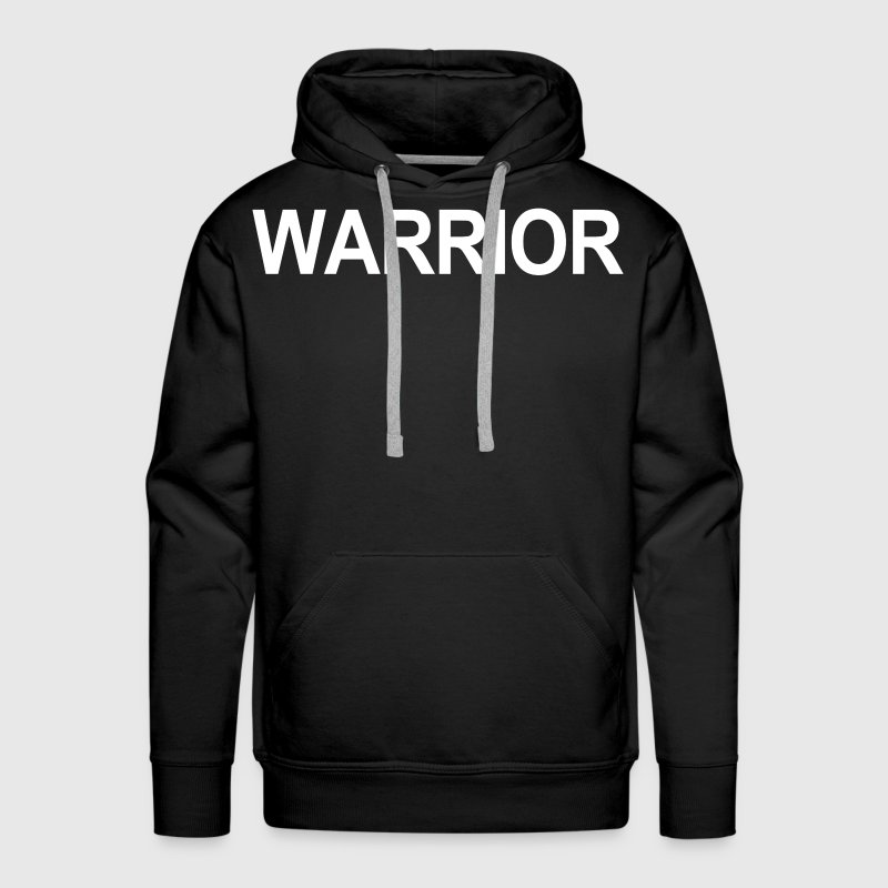 Warrior Soul of a Lion Hoodies - Men's Premium Hoodie