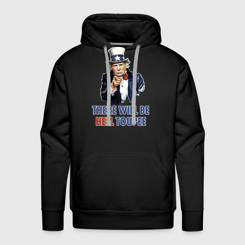 Donald Trump Uncle Sam Hoodies - Men's Premium Hoodie