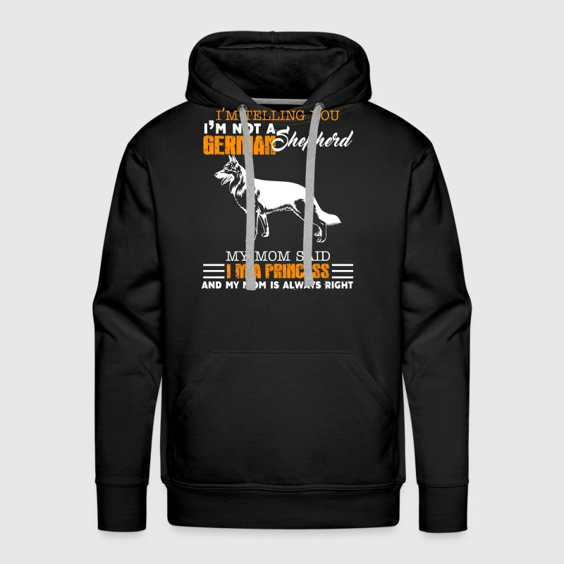 German Shepherd Shirts - Men's Premium Hoodie