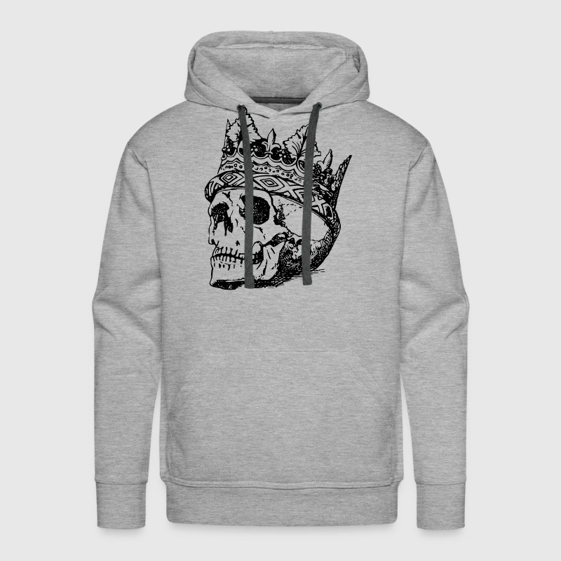 Handcraft Skull Crown - Men's Premium Hoodie