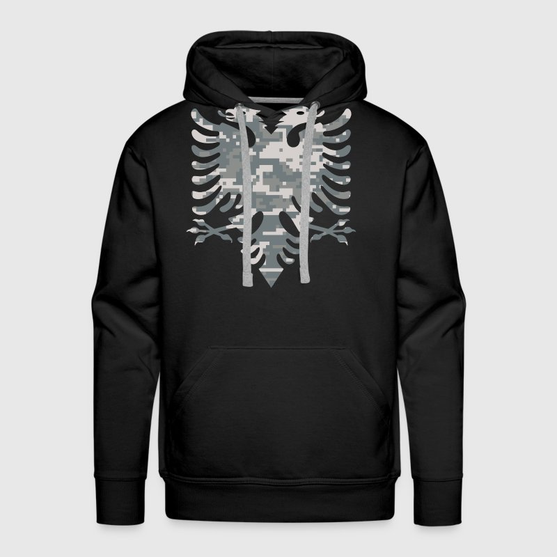Albanian Military Flag - Men's Premium Hoodie