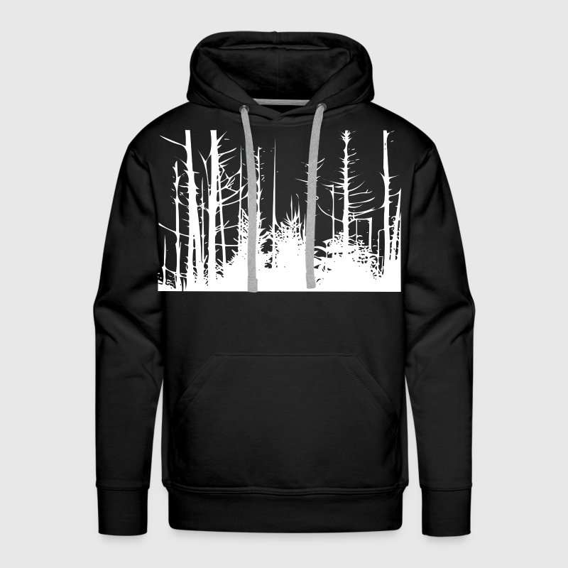 Forest Trees Hoodies - Men's Premium Hoodie