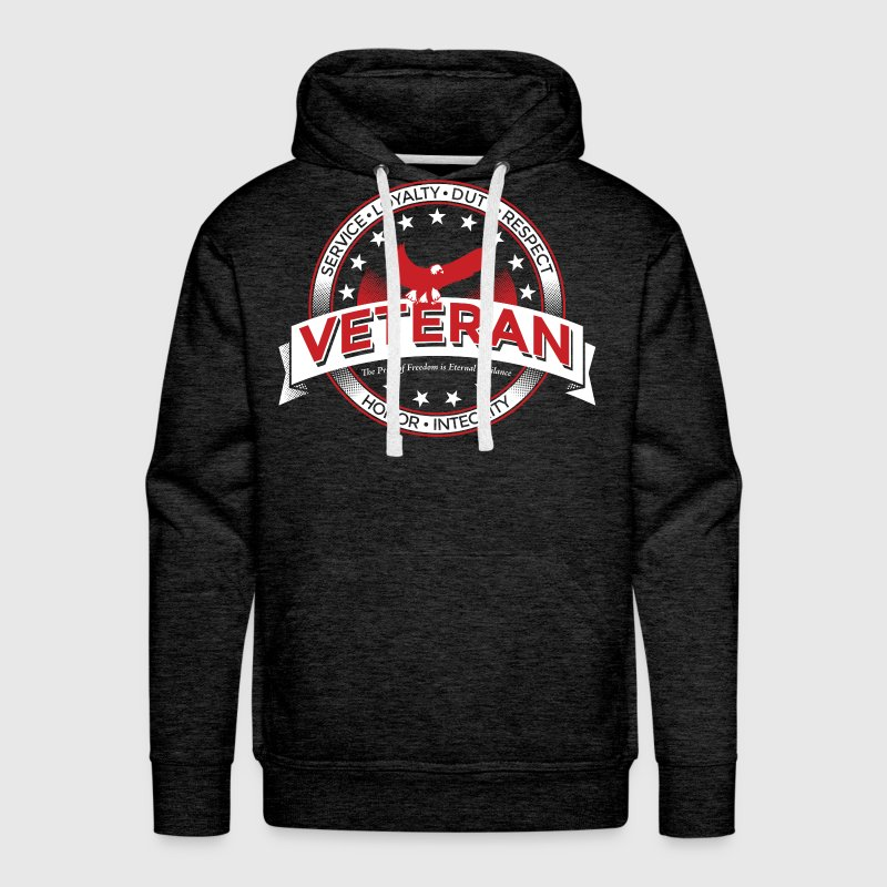 Veteran Army Navy Marines Soldier Remembrance - Men's Premium Hoodie