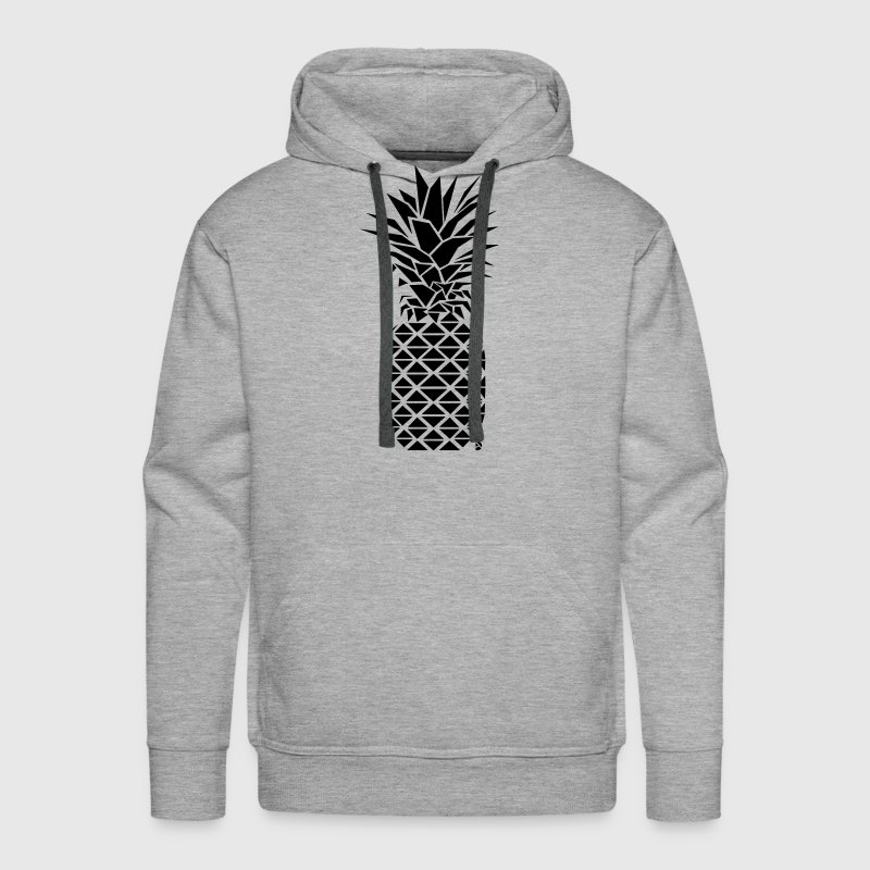 AD Geometric Pineapple Hoodies - Men's Premium Hoodie