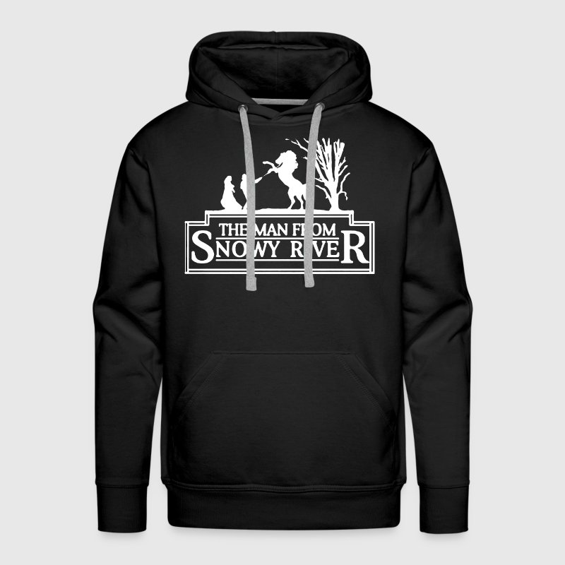 Man From Snowy River - Men's Premium Hoodie