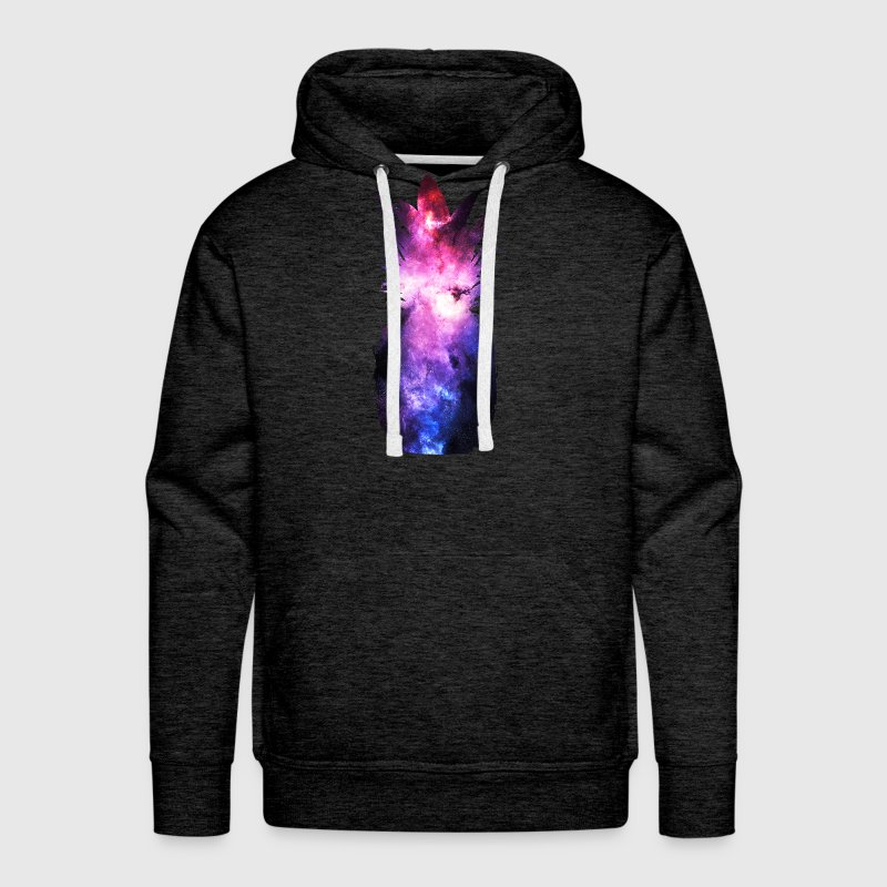 Stay Lifted Cosmic Pineapple Hoodies - Men's Premium Hoodie