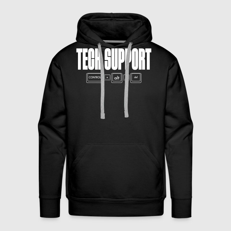 TECH SUPPORT Hoodies - Men's Premium Hoodie