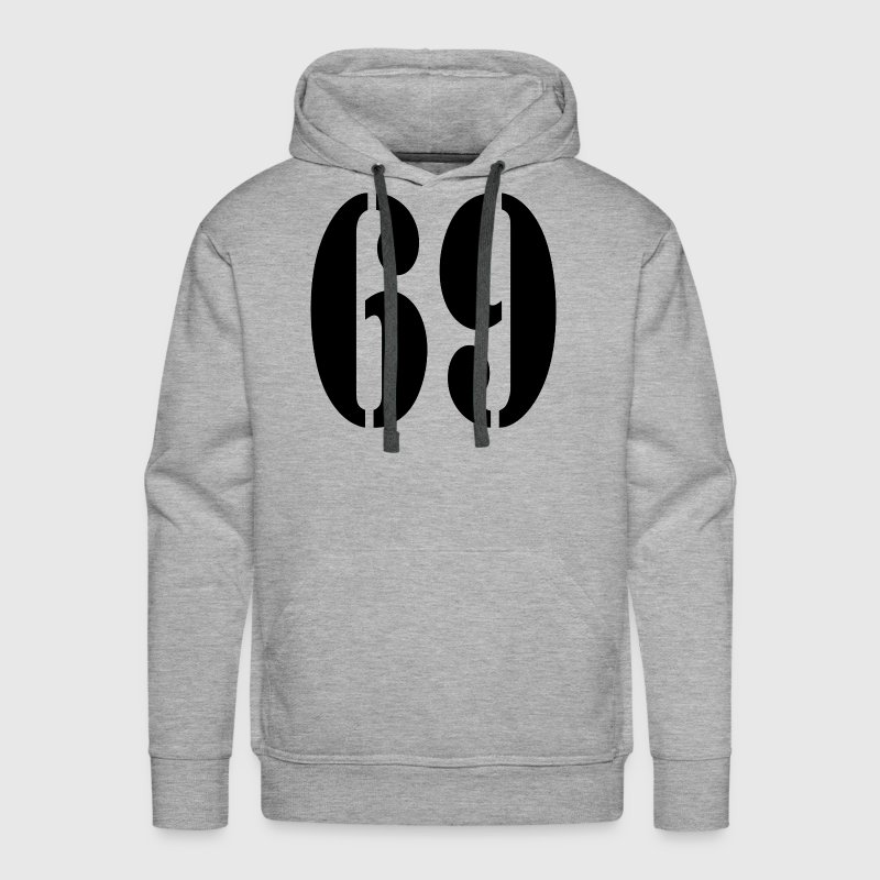 69 Sixty Nine Position Style Hoodies - Men's Premium Hoodie
